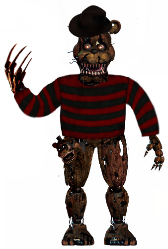 Freddy front pose 2 by Pyro-raptor