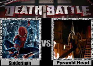 Spiderman (The Amazing Spiderman) vs Pyramid Head