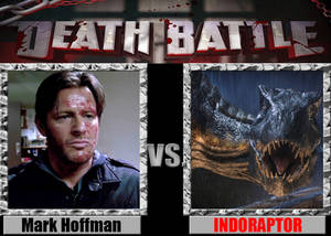 Mark Hoffman vs the Indoraptor