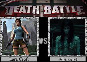 Lara Croft vs Ahmanet