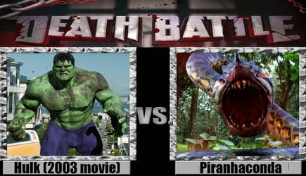 Hulk (2003 movie) vs the Piranhaconda