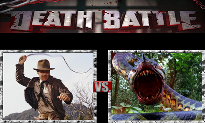 Indiana Jones vs Piranhaconda