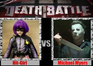 Hit-Girl vs Michael Myers