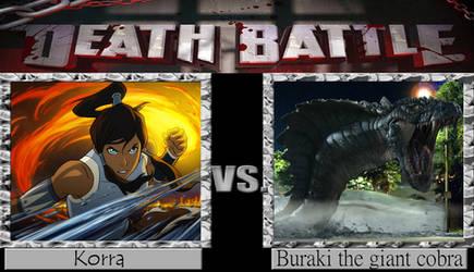 Korra vs Buraki