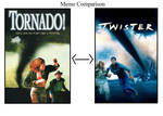 Tornado/Twister 1996 movie comparison by Pyro-raptor