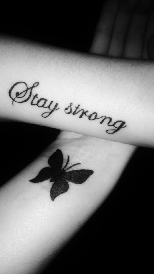 Stay Strong by littleangellaura1