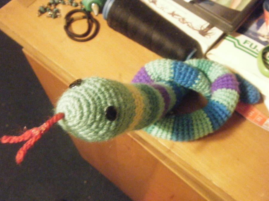 Snake Amigurumi by Lelei-Gamyi on DeviantArt