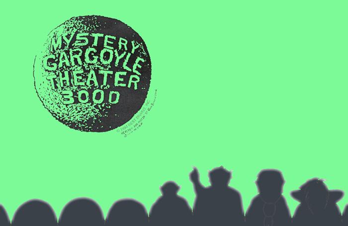 Mystery Gargoyle Theater 3000 by jadegriffin