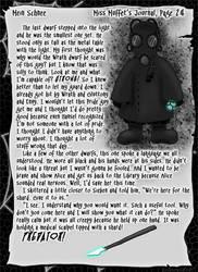Mein Schnee 112: Miss Muffet's Journal, Pg.24