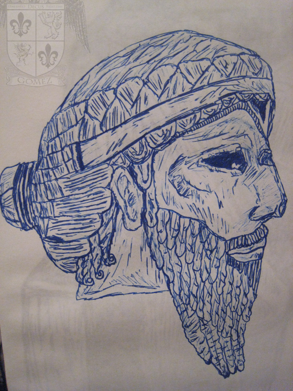 King Sargon by Danimal2033