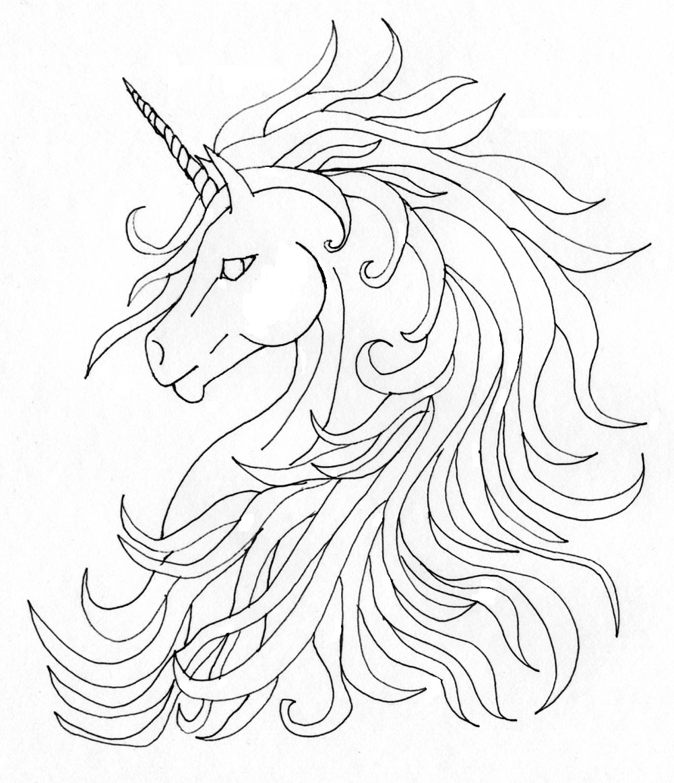 Unicorn tattoo by sphinx47 on deviantart for Unicorn horn tattoo