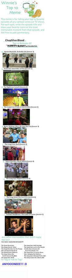 Top Ten Episodes - It's Always Sunny