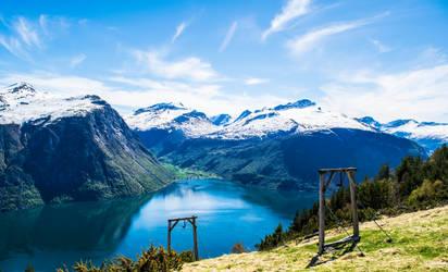 Valldalen Mountains 2 by Blackhole12