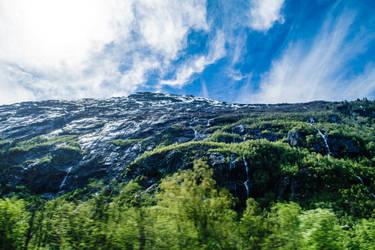 Norwegian Cliff by Blackhole12