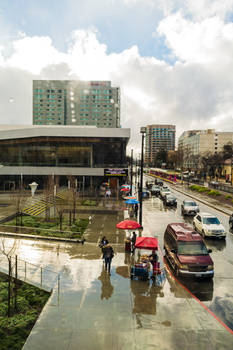 Rainy San Jose