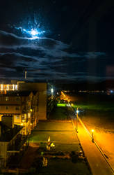 Seaside Night Walk