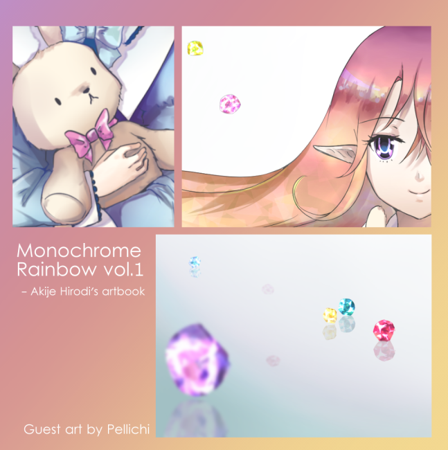 Loli bunny - Monochrome Rainbow preview by Pellichi