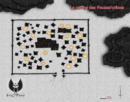 Le camp des Fracass'cranes by etherneofzula