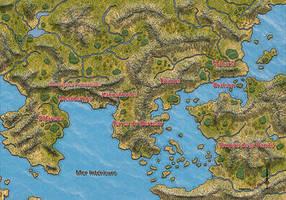 Le monde de Chaosmos by etherneofzula