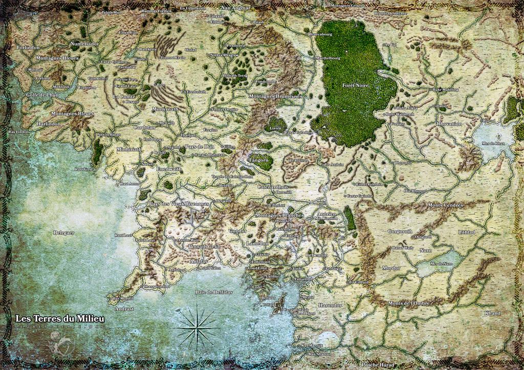 Terres du Milieu by etherneofzula
