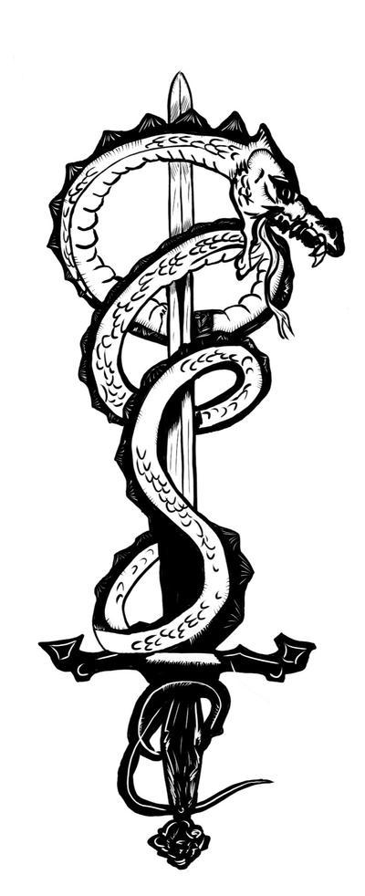 Dragon sword by etherneofzula