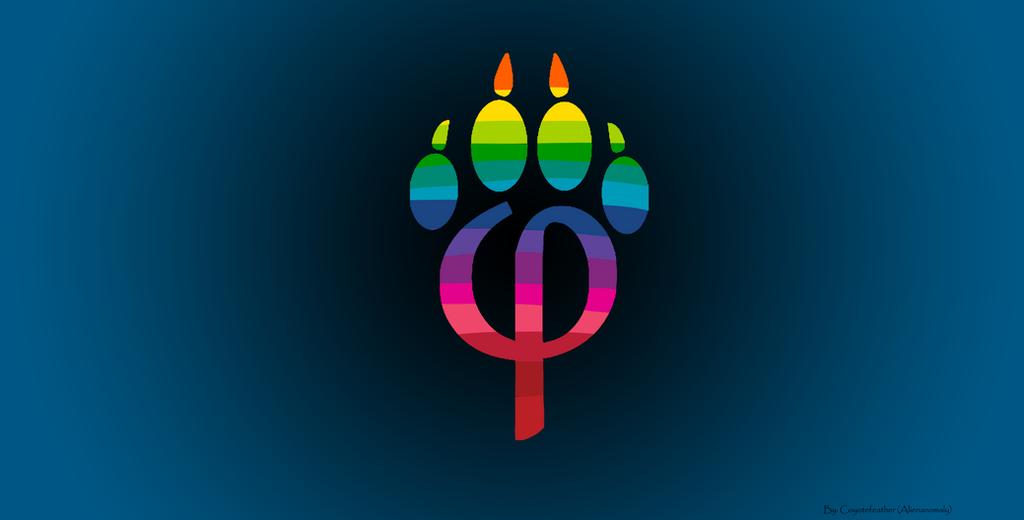 Phipaw Blk Blu Gay Furry Pride By Pixelsnaxs