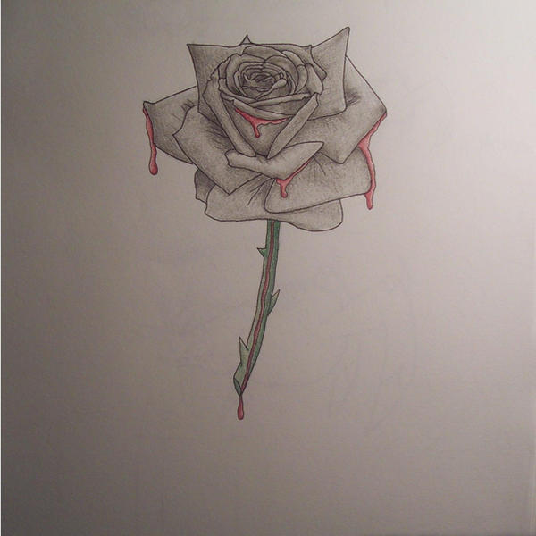 Emo rose by xdarkxabyssx on deviantart - Emo rose pictures ...