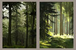 landscape paintings 11 by forestfolke