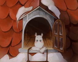 it is spring in moominvalley