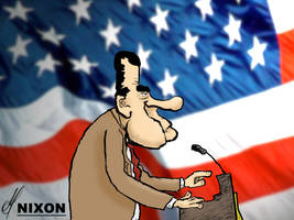 Nixon Press Declaration by Samuel-SILVER