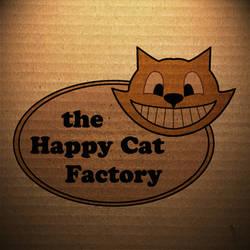 Happy Cat Factory 90's Logo by Samuel-SILVER