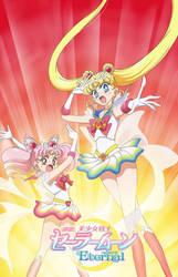 Sailor Moon Eternal key visual - manga version