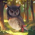 Week2: feathered animals  Pfiouu !! Sacré défi pour moi : n'importe qui peut remarquer que je ne suis pas DU TOUT habituée à dessiner des animaux ou des décors !! Ou une scène un peu narrative ! Je suis pas entièrement satisfaite du résultat, mais contente quand même d'avoir eu l'occasion de sortir un peu de ma zone de confort avec ce thème !