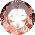 52 weeks illustration challenge / Week 8 : Pastel  Une petite princesse pastel toute simple !