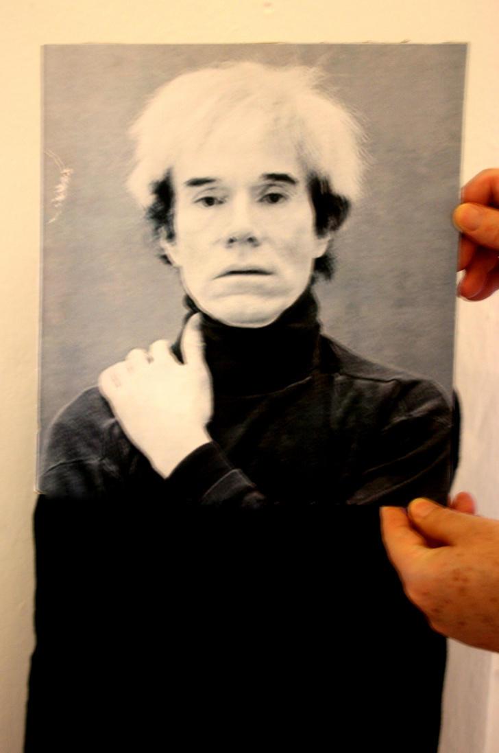 Andy warhol self portrait for Andy warhol self portrait