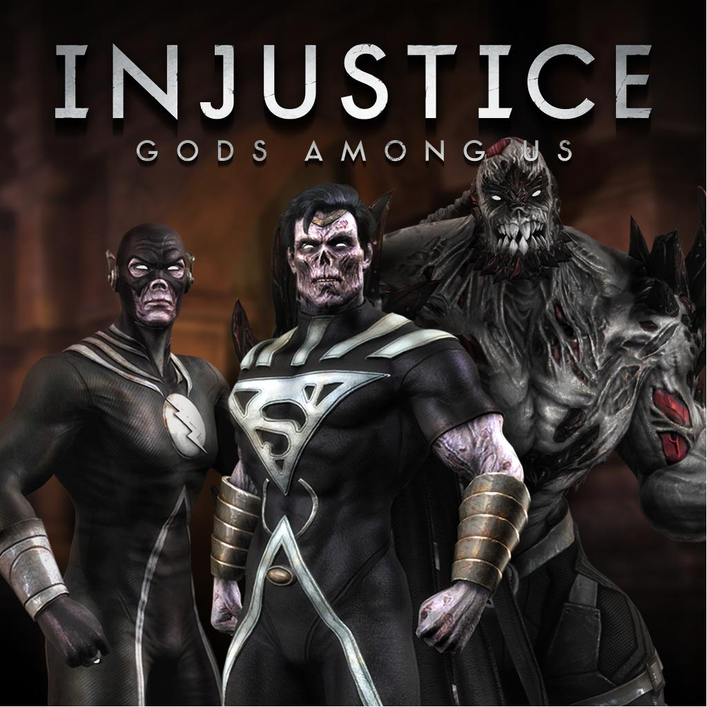 Injustice Skin Pack Blackest Night by InjusticeTrinity on