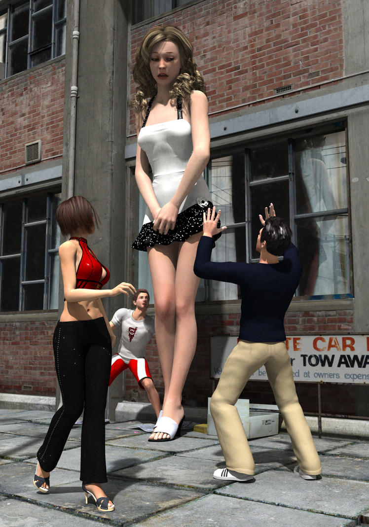 Hot giantess tall nsfw videos