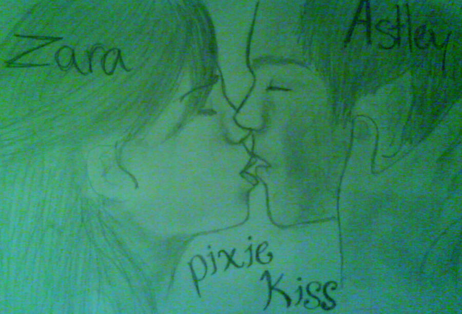 Astley and Zara - Pixie Kiss by art-is-an-expression