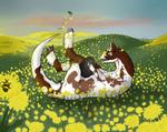 Monthly Quest - Dandelion Adventures