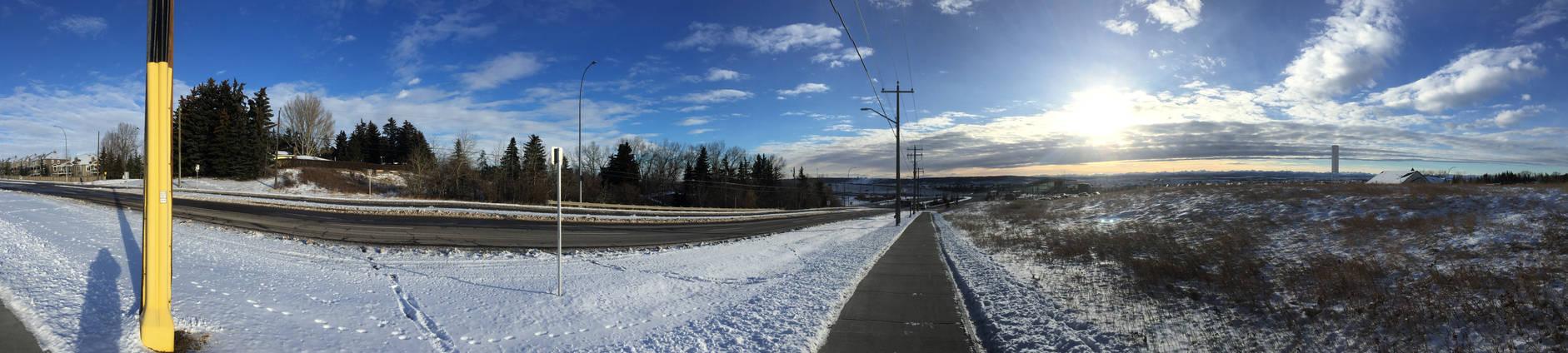 Calgary - Tuscany Station Panorama