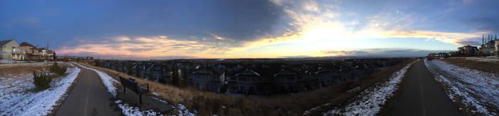 Calgary - Royal Oak Panorama
