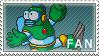 Bubbleman by MikubaStamp