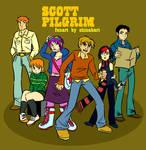 Scott Pilgrim - The Gang