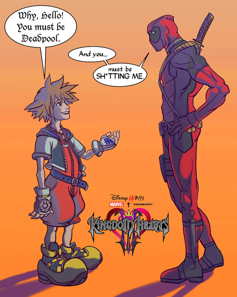 Kingdom Hearts 3 by shinakari