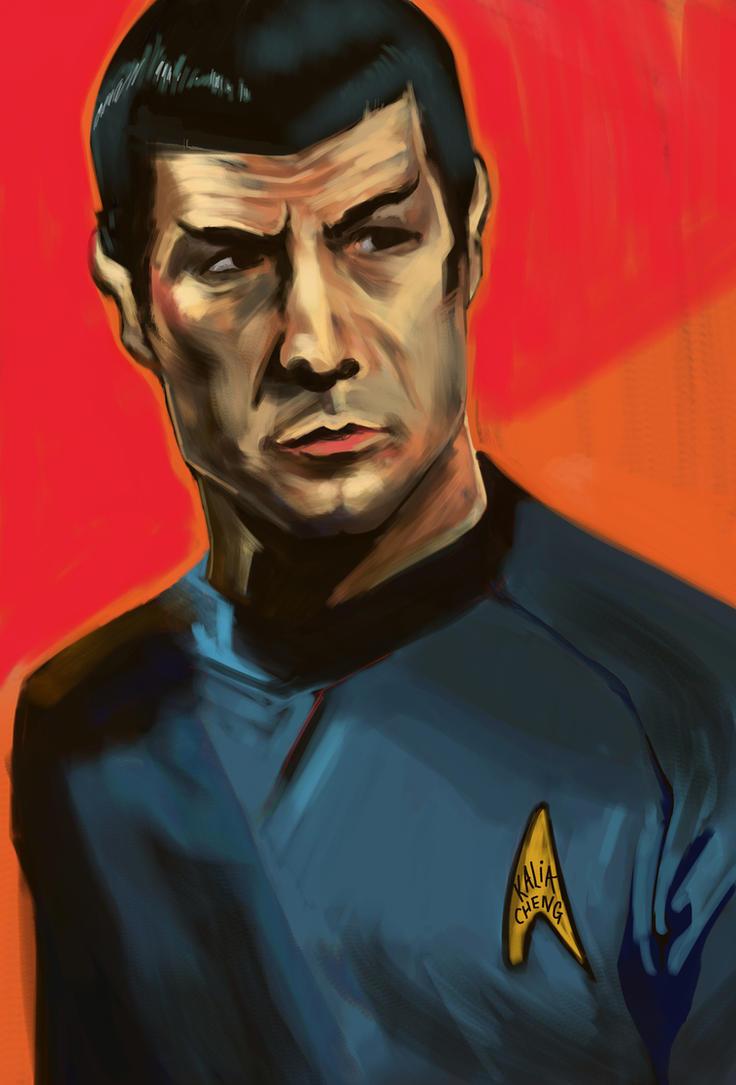 Spock by shinakari
