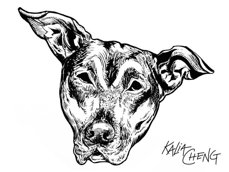 Pudge the Dog by shinakari