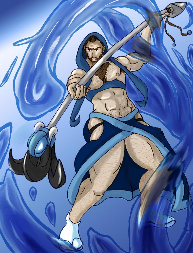 Water Sorcerer FEZ by suskai
