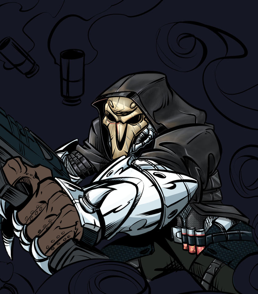 Reaper Progress by RobTorres