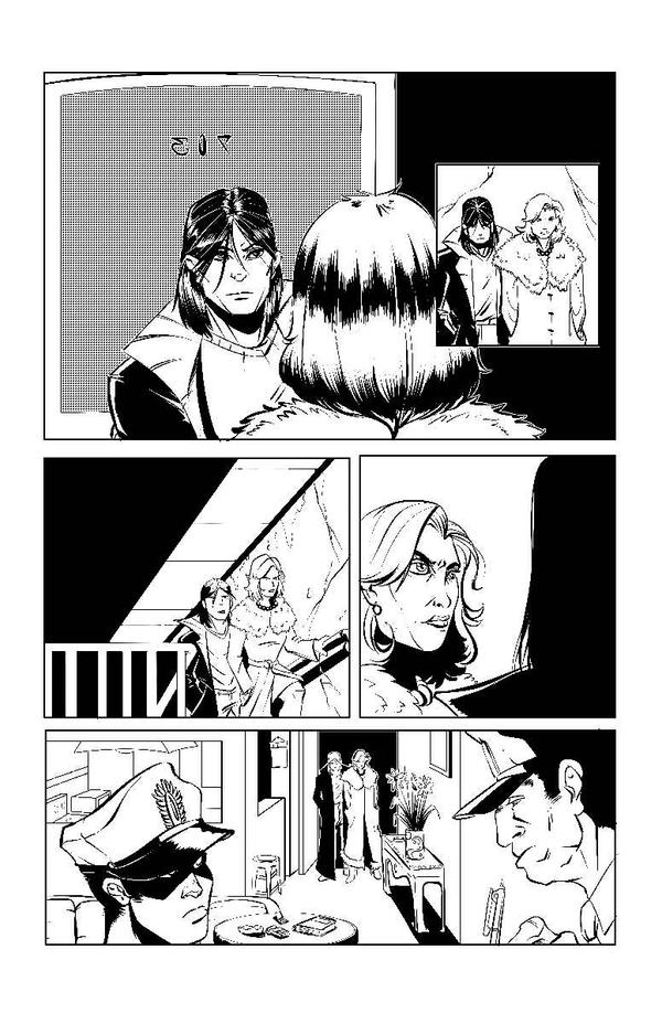 black bird issue 2 flashback sequences pg1 by RobTorres