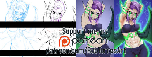 Patreon Support Image by RobTorres